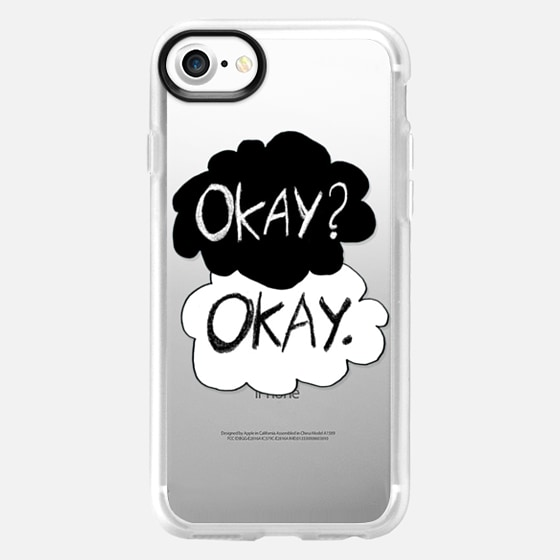 Okay? Okay - The Fault In our Stars - Crystal Clear - Wallet Case
