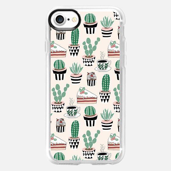 Cacti, Coffee & Cake - Classic Grip Case