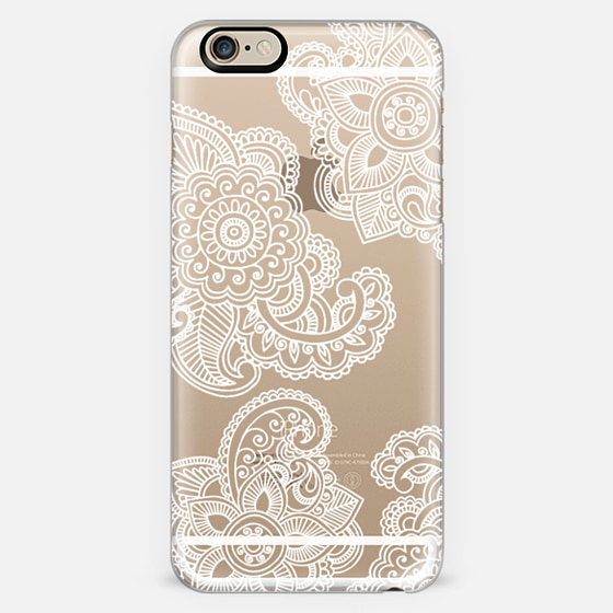lacey paisley transparent -
