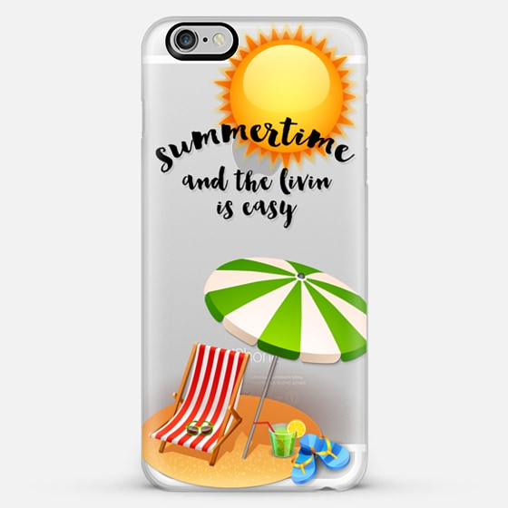 summertime - Classic Snap Case