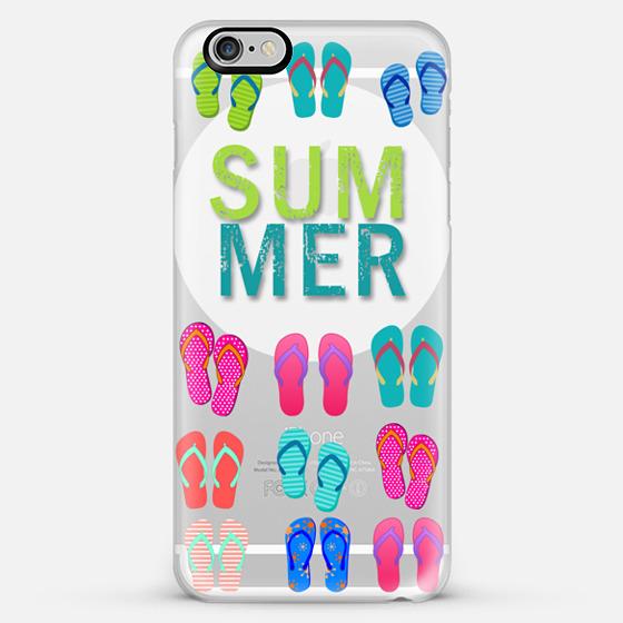 summer flip flops - Classic Snap Case