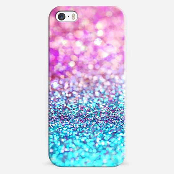 pastel glitter - Classic Snap Case