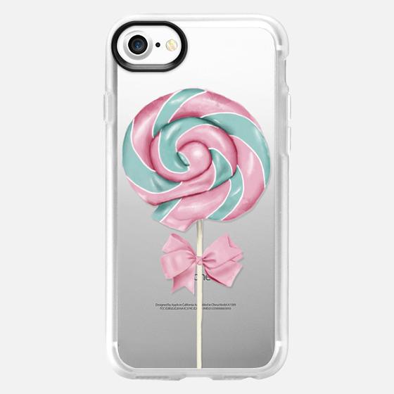 Pink lollipop - Classic Grip Case