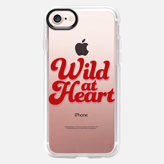 Wild At Heart [Red] - Classic Grip Case