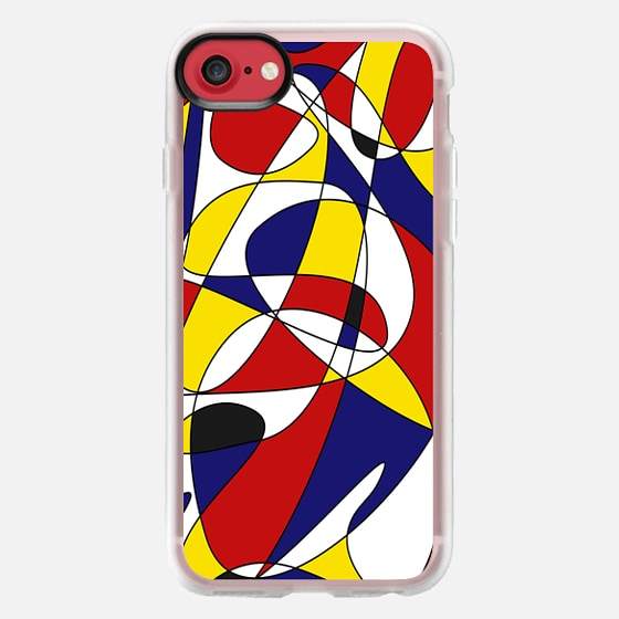MONDRIAN AND GAUSS (iphone) - Classic Grip Case