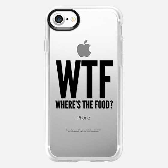 WTF - Where's The Food? - Wallet Case