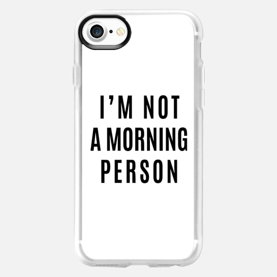 I'M NOT A MORNING PERSON - Wallet Case
