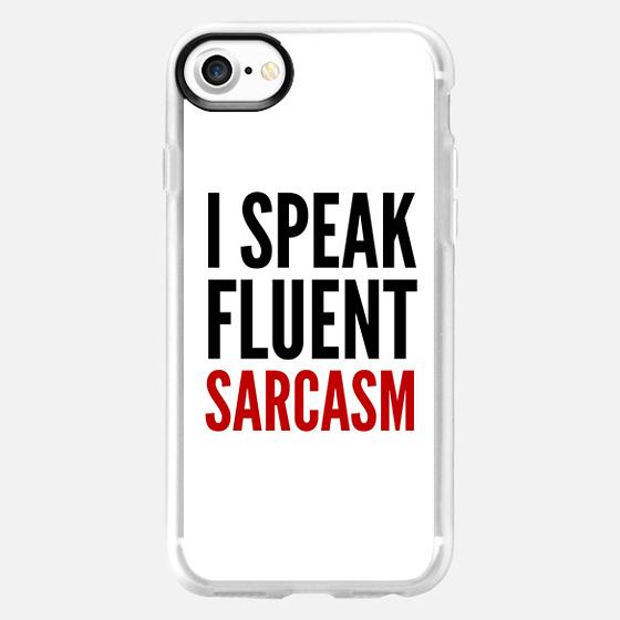 I SPEAK FLUENT SARCASM - Wallet Case