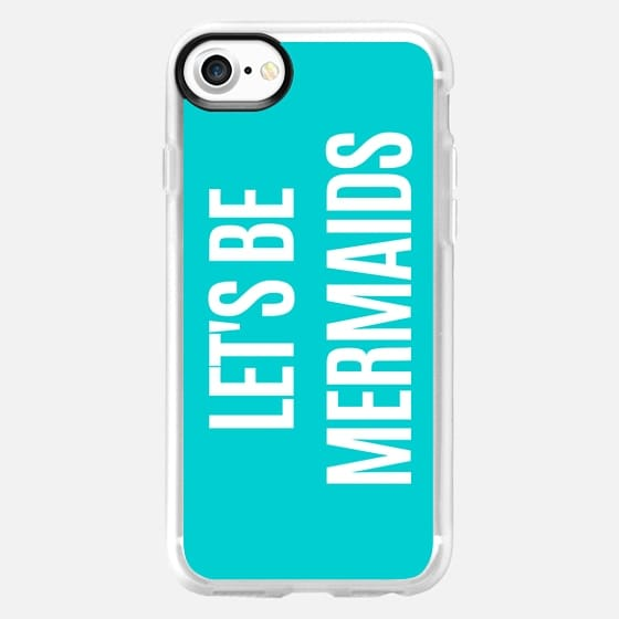 Let's Be Mermaids (Turquoise) - Classic Grip Case