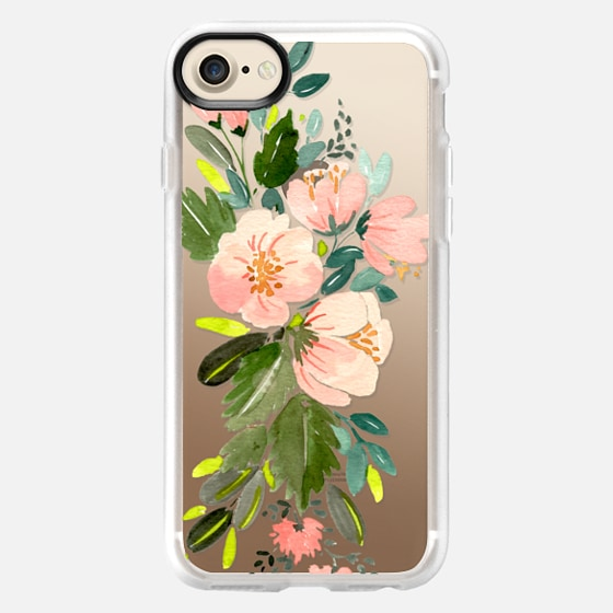 Pink Floral Bouquet - Wallet Case