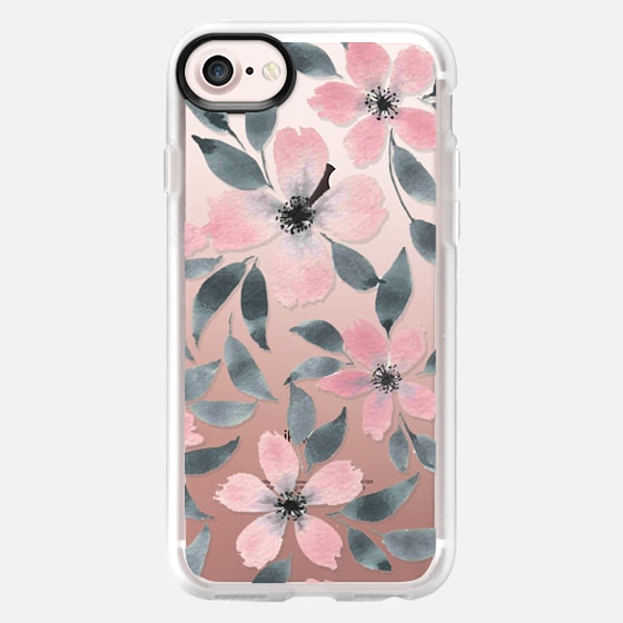 Spring flowers watercolor n.5 - Classic Grip Case