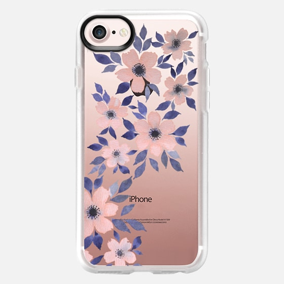 Spring floral watercolor n.4 - Classic Grip Case