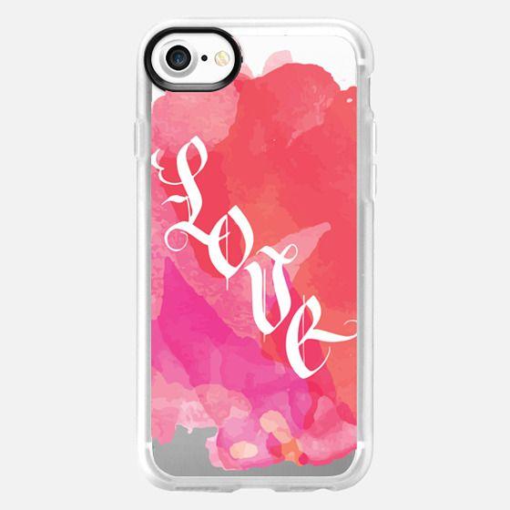 Watercolor Love - Snap Case
