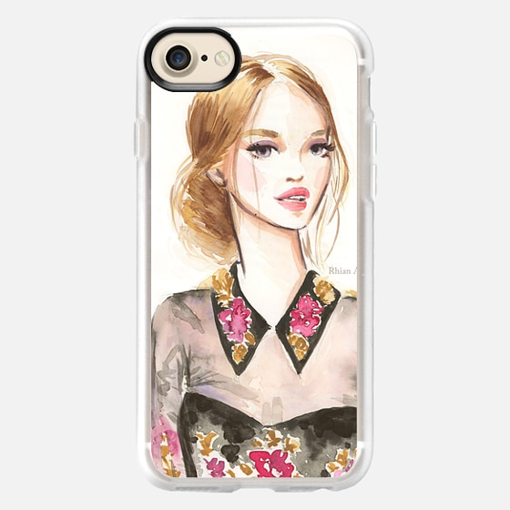 Beauty Illustration - Marchesa by Rhian Awni - Wallet Case