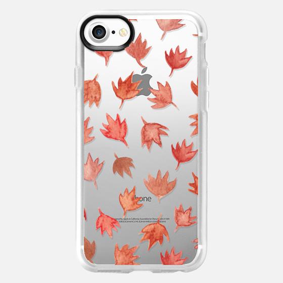 Falling Autumn Leaves  - Wallet Case