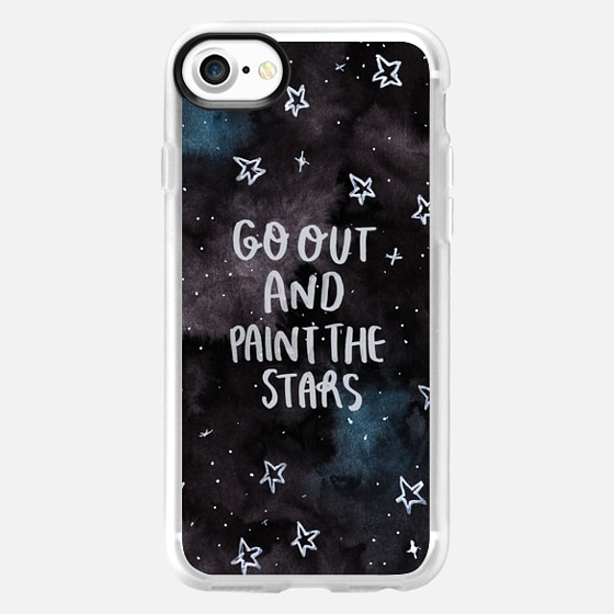 Go out and Paint the Stars - Wallet Case
