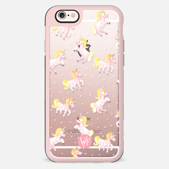 Magical Unicorns Transparent Case by Wonder Forest -