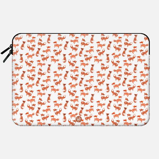 Wonder Forest - Forest Foxes Macbook Case - Macbook Sleeve