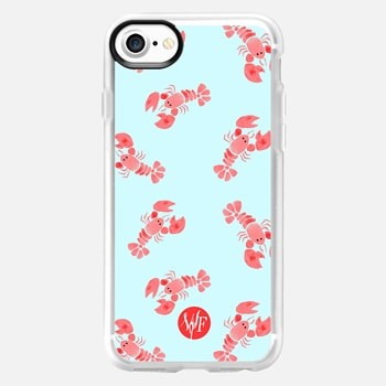 iPhone 7 Case Little Lobsters by Wonder Forest