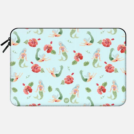 Mystical Mermaids by Wonder Forest MacBook Case - Macbook Sleeve