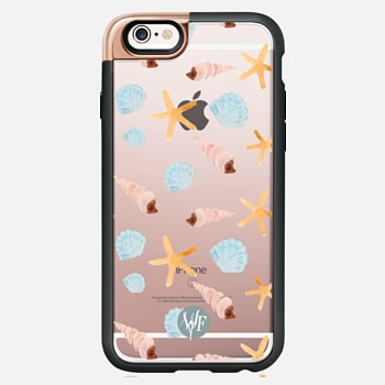 iPhone 6s Case Swept Ashore Clear Case by Wonder Forest