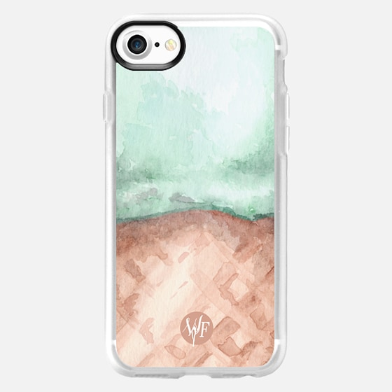 Ice Cream Everywhere - Mint by Wonder Forest - Wallet Case