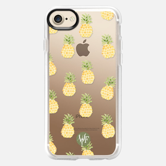 Pineapple Express Clear Case by Wonder Forest - Wallet Case