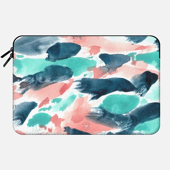 Different Strokes Macbook Case by Wonder Forest - Macbook Sleeve