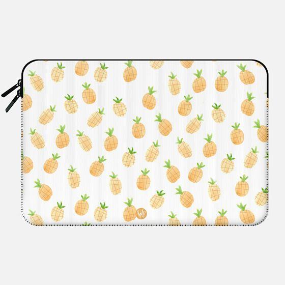 Wonder Forest Pineapples Macbook Case - Macbook Sleeve