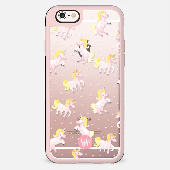 Magical Unicorns Transparent Case by Wonder Forest -