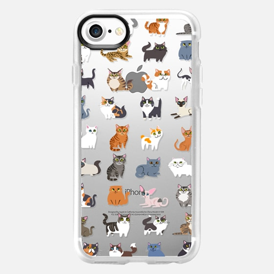 All Cats (clear) - Wallet Case