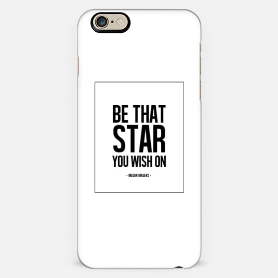 Be that STAR you wish on. B+W. -
