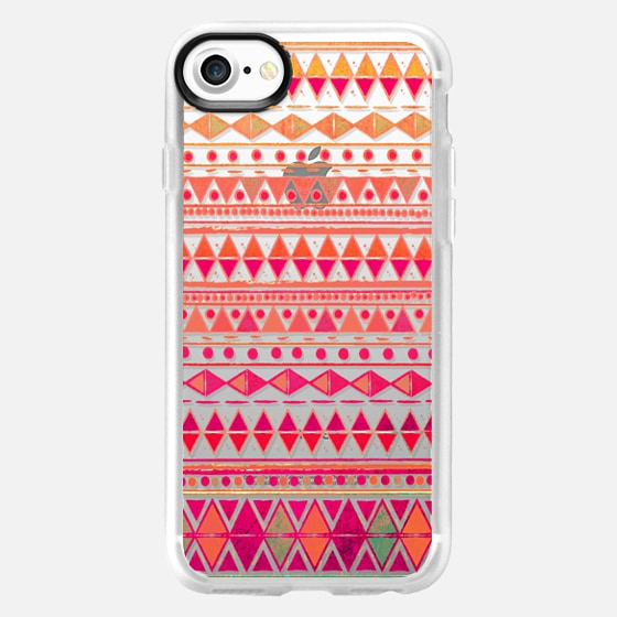 Summer Breeze - Phone Crystal Clear Case - Wallet Case