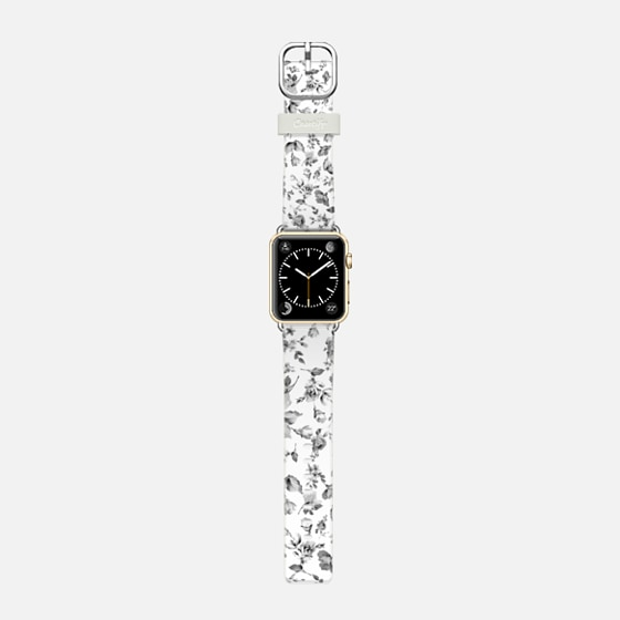 VINTAGE FLOWERS IN WHITE - APPLE WATCH - Casetify Band