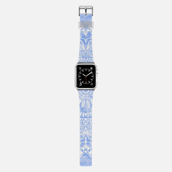 BOHEMIAN FLOWER MANDALA BLUE // APPLE WATCH -