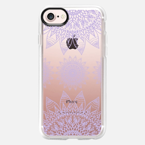 FESTIVAL FEATHER MANDALA - LILAC - Wallet Case