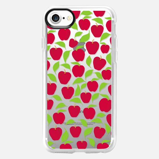 Red Delicious (transparent) - Wallet Case