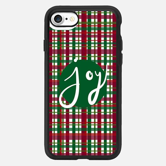 Holiday Plaid Joy Green -