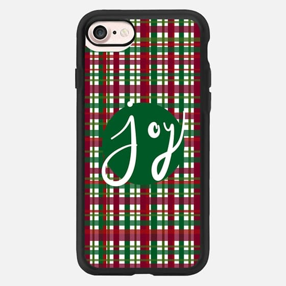 Holiday Plaid Joy Green -