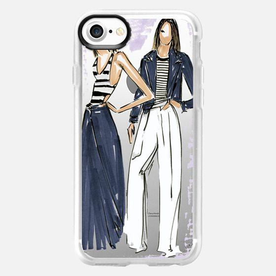 -Ralph Lauren  Fashion Sketch by The XO Studio - Classic Grip Case