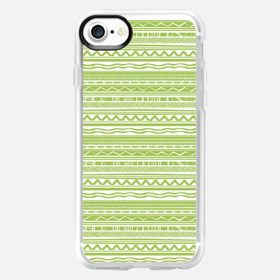 green pattern - Wallet Case