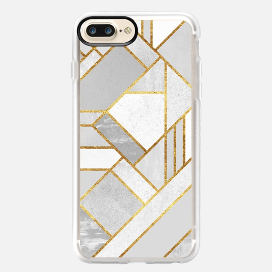 Gold City / Geometric Marble -
