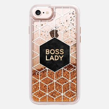 iPhone 7 Case Boss Lady - Transparent 1