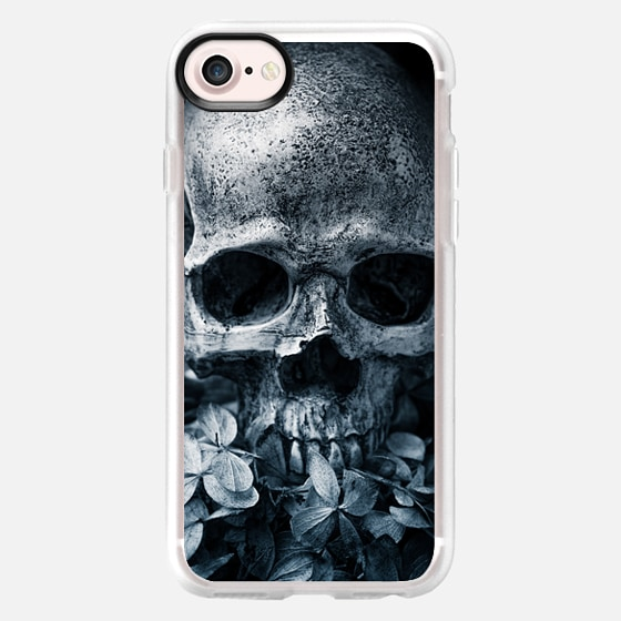 Skull Flowers II - Classic Grip Case