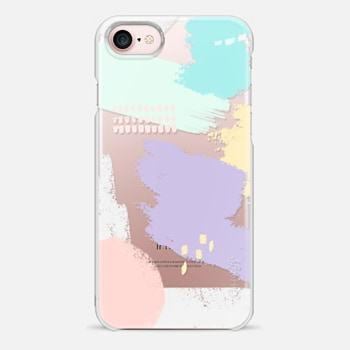 iPhone 7 Case Abstract Pastels