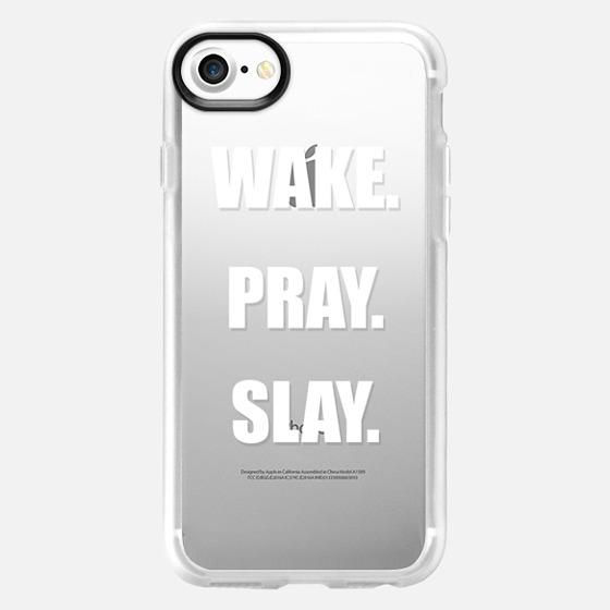 Beyonce- Wake- Pray- Slay- - Wallet Case