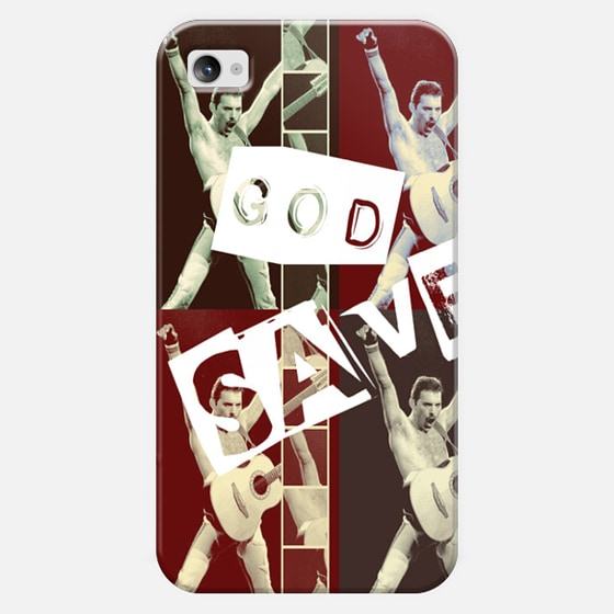 God Save Freddie - Classic Snap Case
