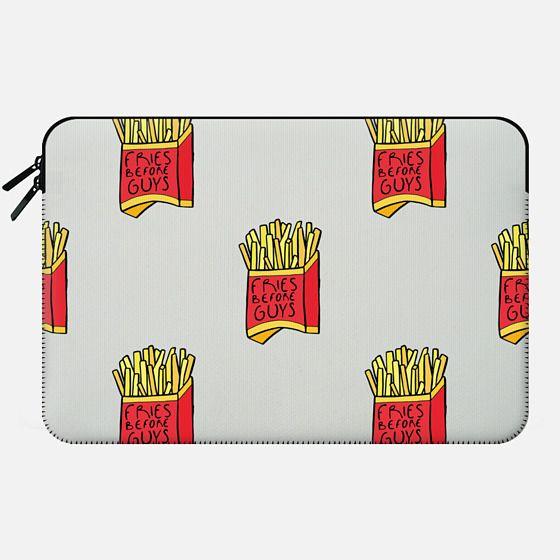 Fries Before Guys - Macbook Sleeve