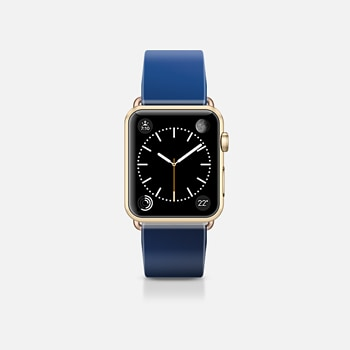 Apple Watch Band (38mm) Case Space blue