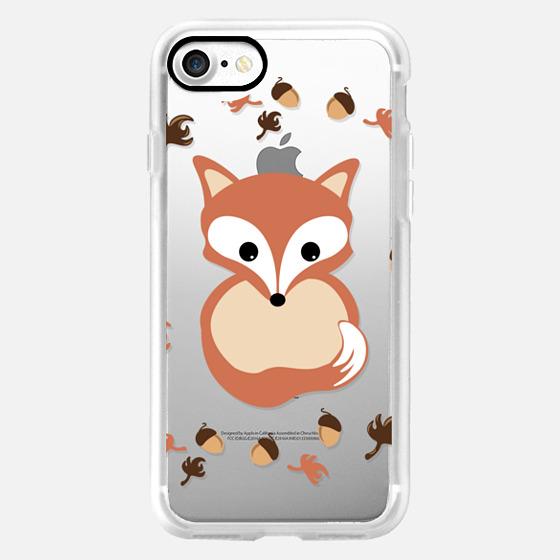 Fox in autumn -